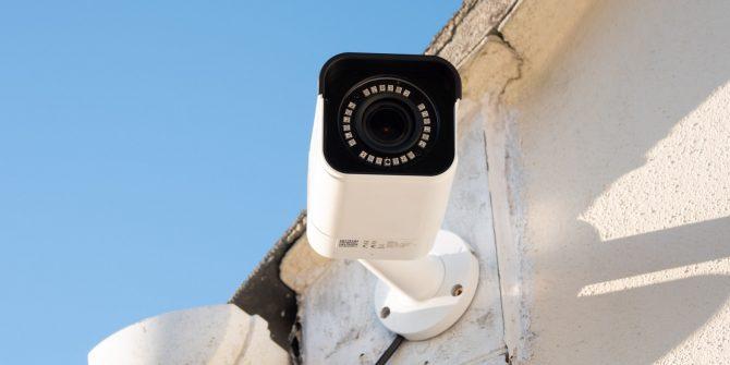 Udendørs videoovervågning test