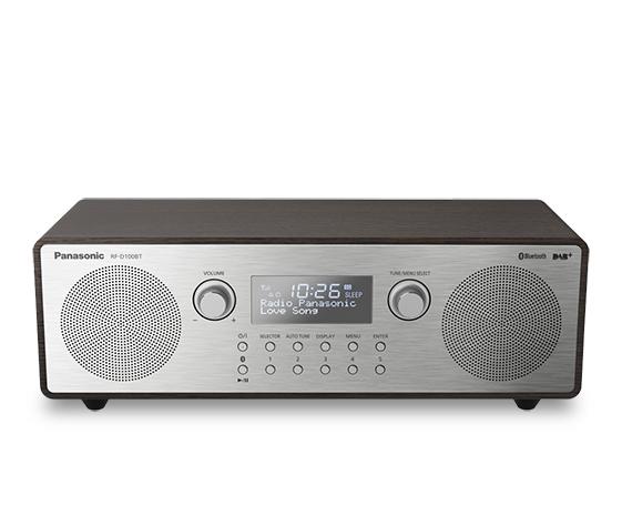 Panasonic RF-D100BT, Bærbar, Digital, DAB,DAB+,FM, 87,5 - 108 Mhz, 10 W, 10%