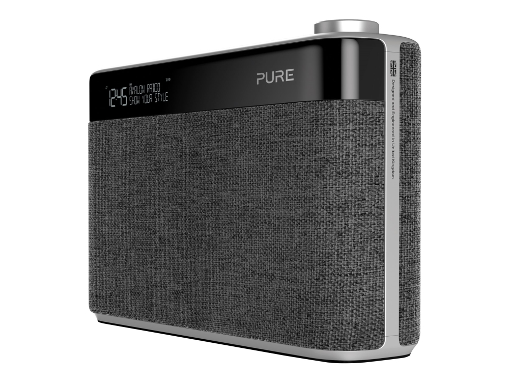 Pure Avalon N5 - DAB bærbar radio - brunsort