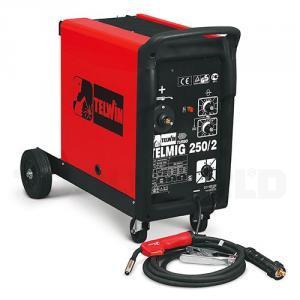 Telwin TELMIG 250/2 CO2 Svejser MIG/MAG, 250 amp 3 fase