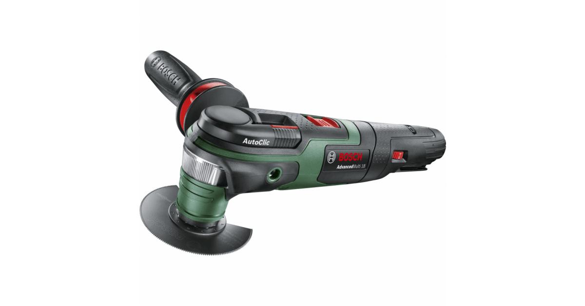 AdvancedMulti 18V Bosch multiværktøj - køb billigt på 10-4.dk