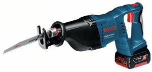 Bosch GSA 18 V-Li bajonetsav solo uden batteri, L-Boxx