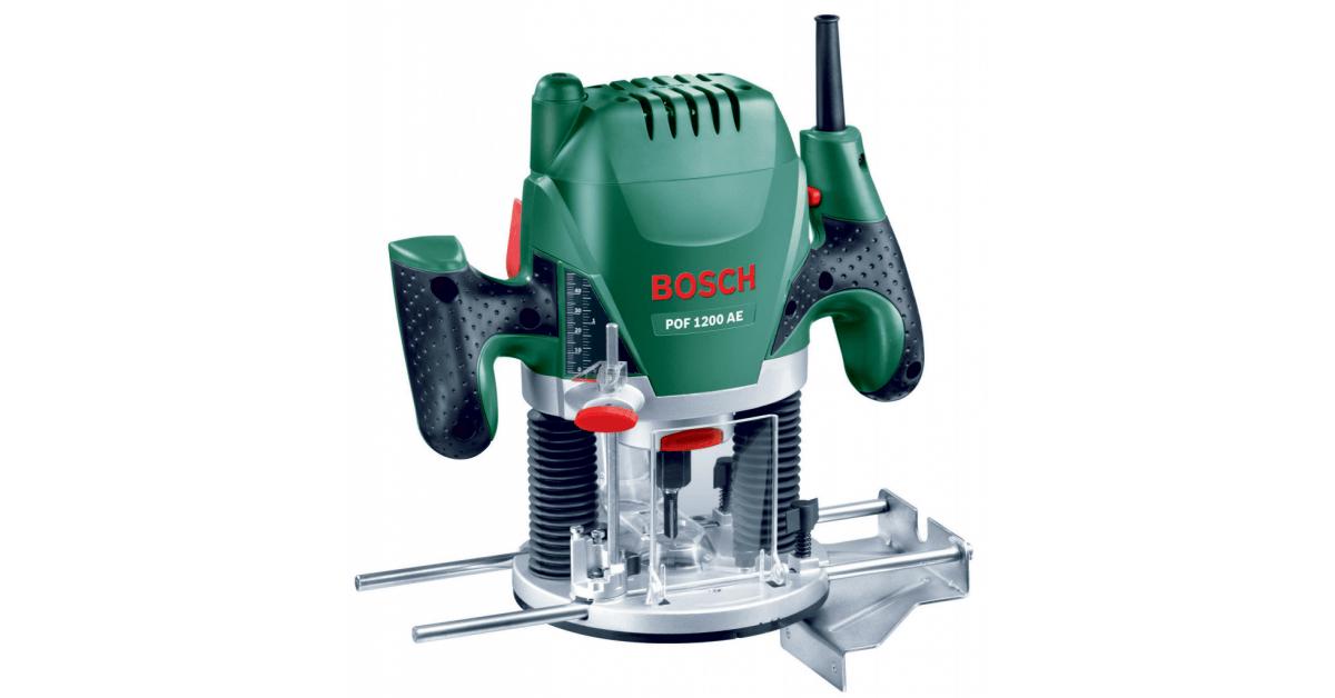 Bosch POF 1200 AE- Kraftfuld overfræser