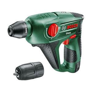 Bosch Uneo borehammer 12V med 2,5 Ah batteri og lader