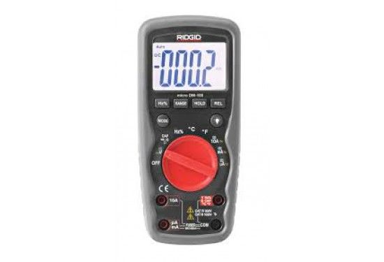 DM-100 Ridgid Multimeter