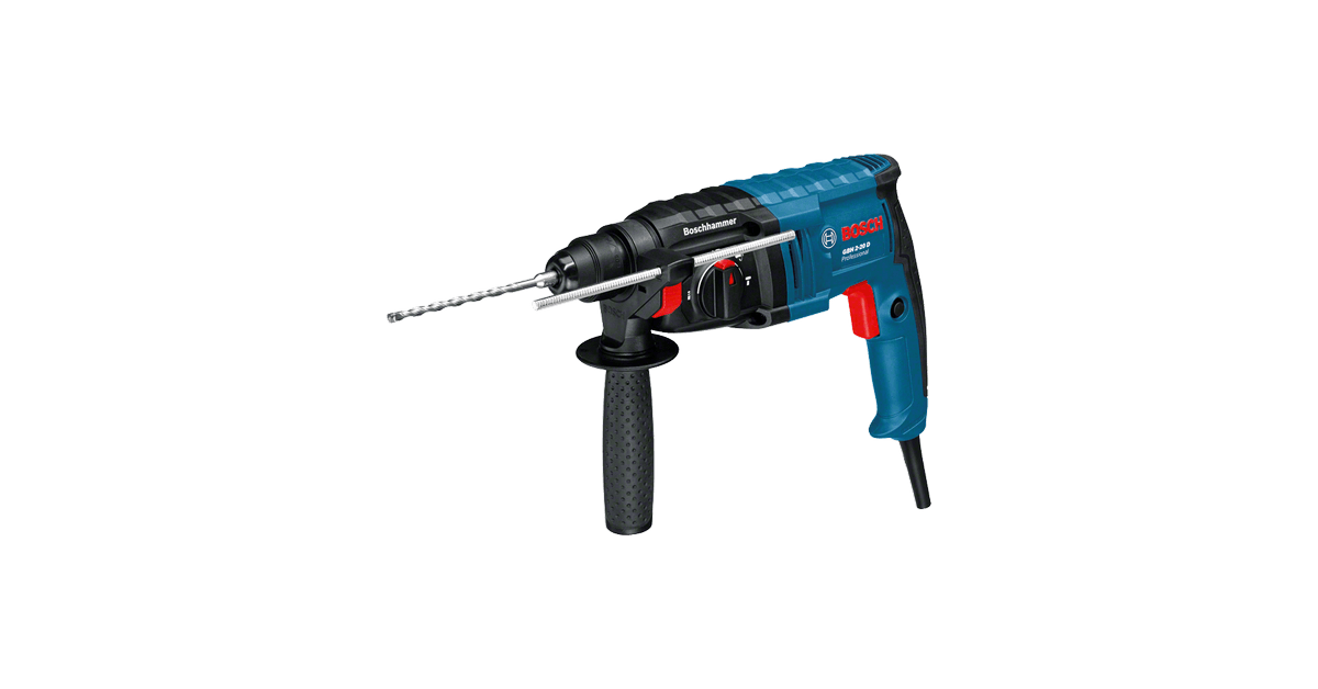 GBH 2-20 D Bosch 650W borehammer med høj borehastighed - 10-4.dk