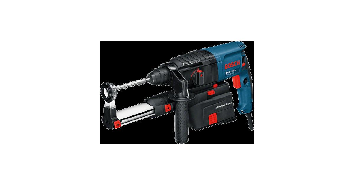GBH 2-23 REA Bosch 710W borehammer m/kuffert - bestil på 10-4.dk