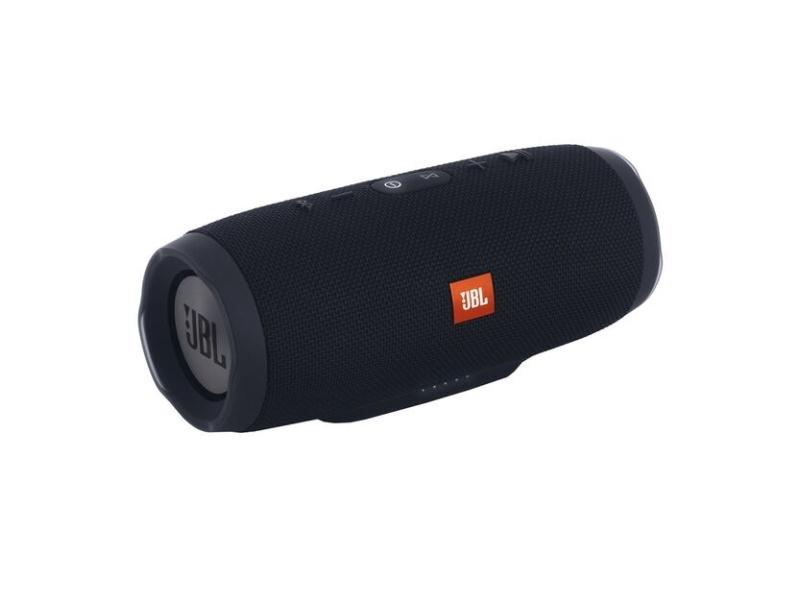 JBL Charge 3 Stealth Edition, 2.0 kanaler, 5 cm, 20 W, 65 - 20000 Hz, 80 dB, Kabel & trådløs