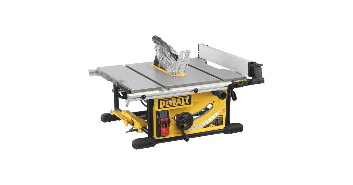 Køb Dewalt DWE7492-QS bordrundsav 2000W 250mm - 10-4.dk
