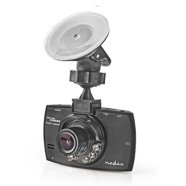 """Nedis bilkamera Full HD, 1.080p, 2.7"""", 120° synsvinkel"""