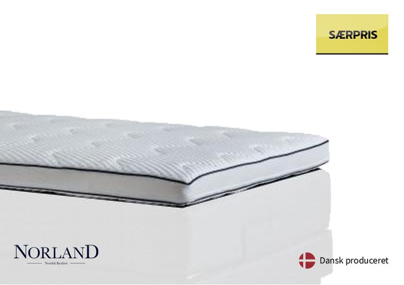 Norland Luksus Latex 10cm 90X200