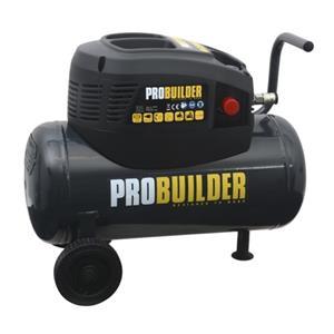 Probuilder kompressor 24 liter oliefri 8 bar 1,5 HK 1100W