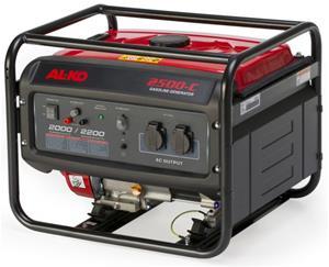 ALKO generator 2500-c. Max. effekt 2,2 kW / 196 ccm.