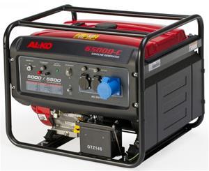 ALKO generator 6500d-c. Max. effekt 5,5 kW / 389 ccm.