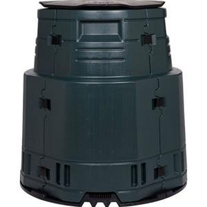 Greenline Master Plus isoleret kompostbeholder i sort på 375 liter