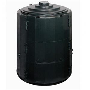 Greenline Mully isoleret kompostbeholder i sort på 360 liter