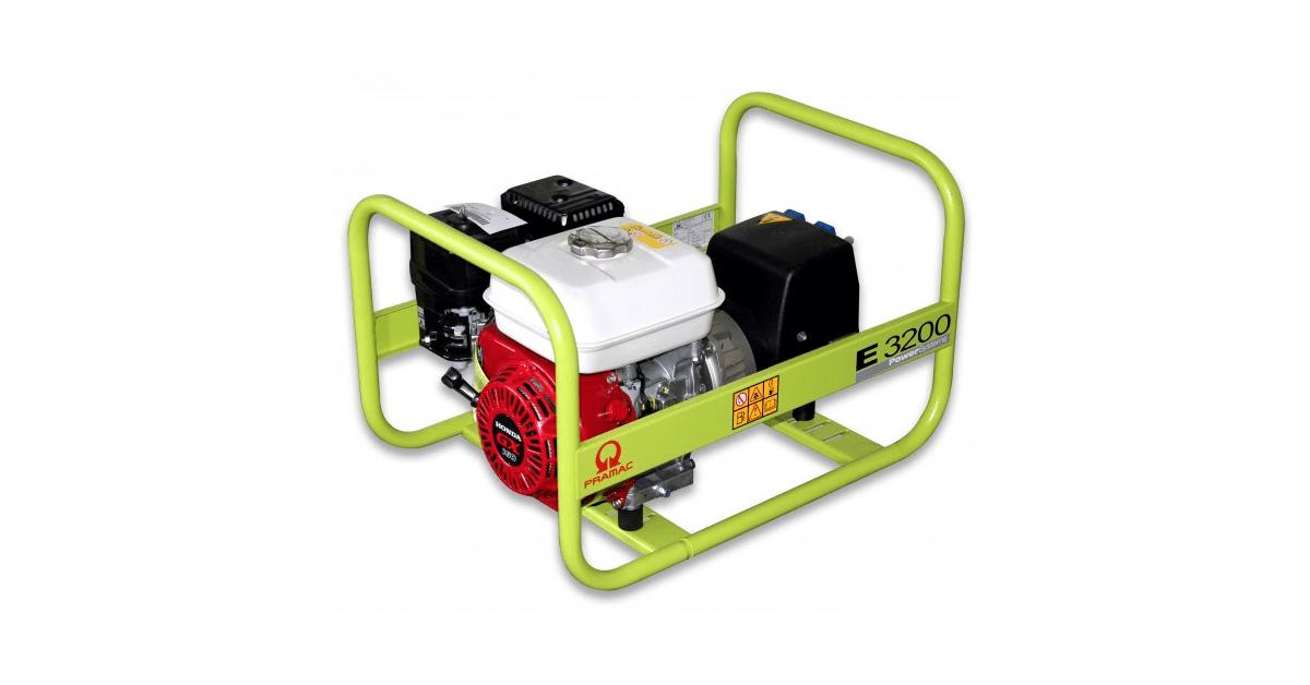 Pramac generator E3200 SHHPI 1414100 - Køb billigt online