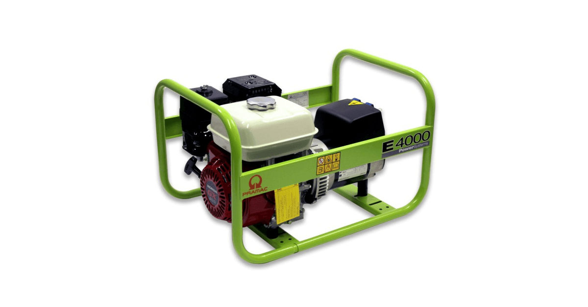 Pramac generator E4000 SHHPI 1414105 - Køb billigt online