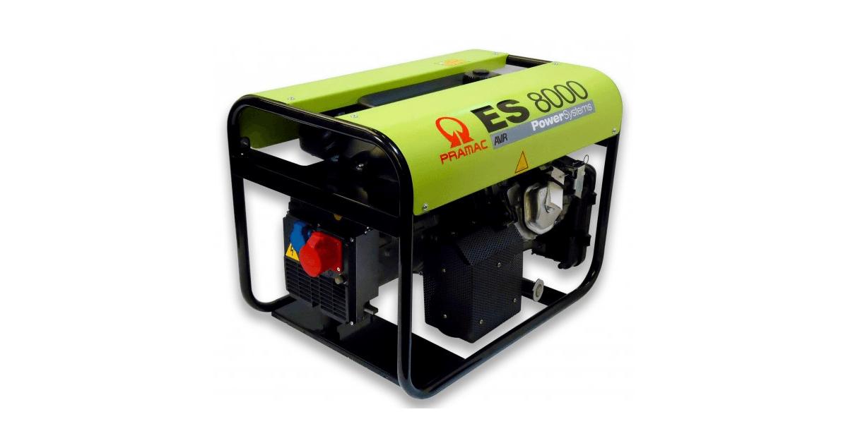 Pramac generator ES8000THHPI 1414440 - Køb billigt online