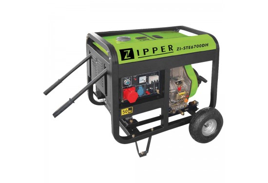 ZI-STE6700DH Diesel Generator Zipper