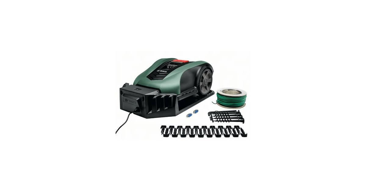 INDEGO M+ 700 Bosch robotplæneklipper - Køb billigt på 10-4.dk