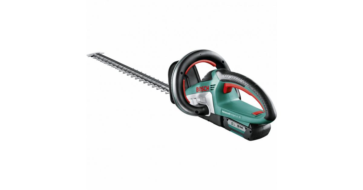 Køb Bosch akku hækkeklipper AdvancedHedgeCut 36V - 10-4.dk