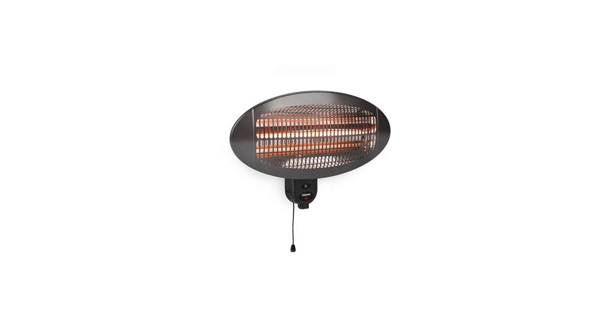 Køb Tristar patio varmer IPX4 2000W t/vægmontering