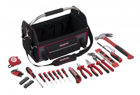 Værktøjssæt 47 dele i taske med rem
