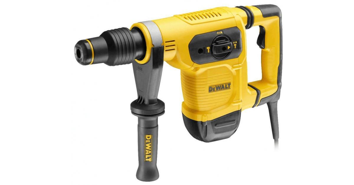 Dewalt borehammer 1050W D25481K-QS SDS-Max - Køb online