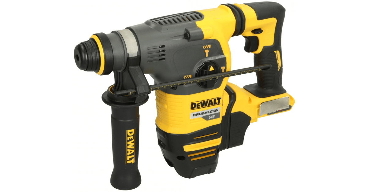 Køb Dewalt akku borehammer DCH333NT-XJ 54V SDS-Plus