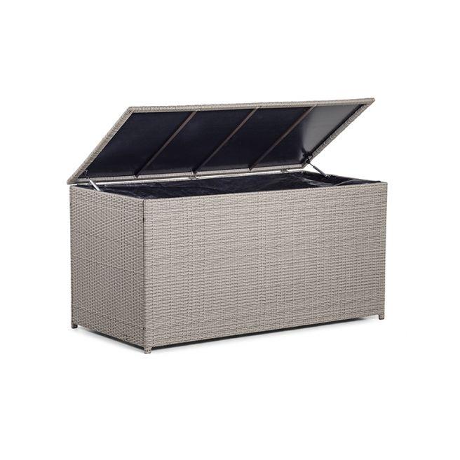 Madrid Hyndebox Steel/rattan - Kubo 78x80x160cm