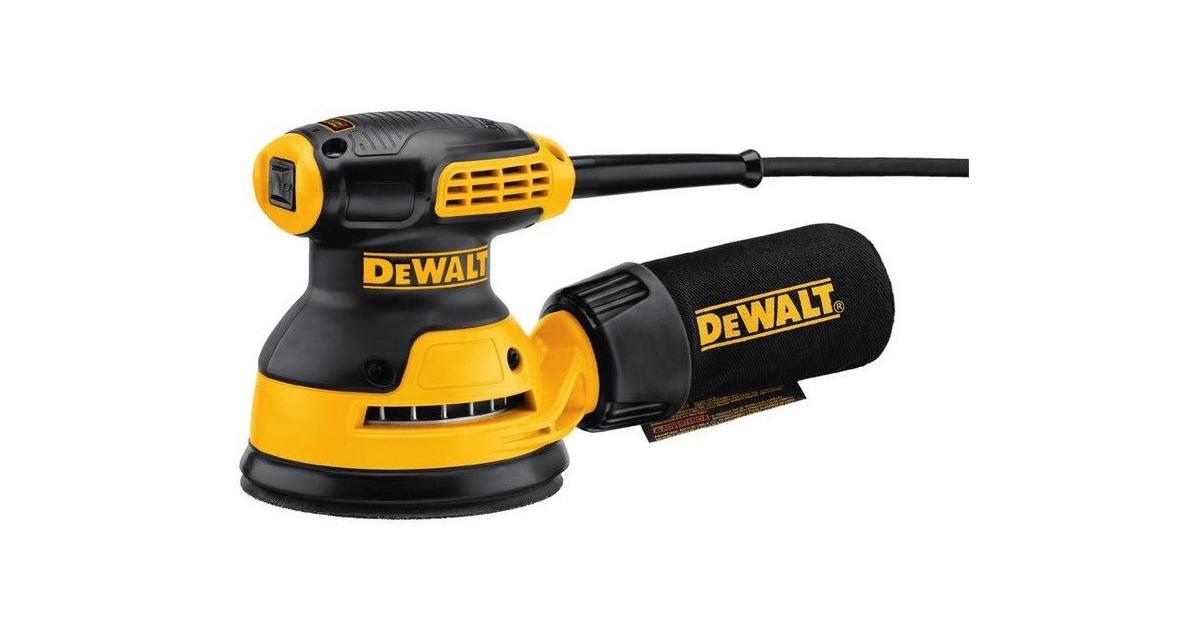 Køb Dewalt DWE6423 excentersliber - billige priser online - 10-4.dk