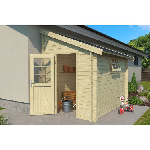 Jura redskabsskur 4,7 m² m/enkeltdør og vindue