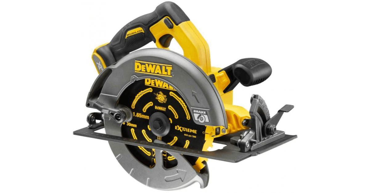Køb Dewalt flexvolt DCS575NXR rundsav
