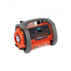 PowerPlus Kompressor 20 Volt + 220 V - SOLO