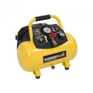 PowerPlus POWX1723 Kompressor 1,5 hk, 12 liter oliefri