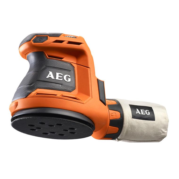 AEG excentersliber 18V 0-vers BEX18-125-0 uden batteri og lader