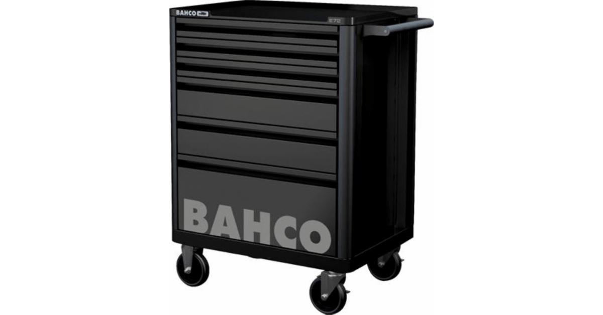 Bahco værkstedsvogn i sort m/5 skuffer - Køb online hos 10-4