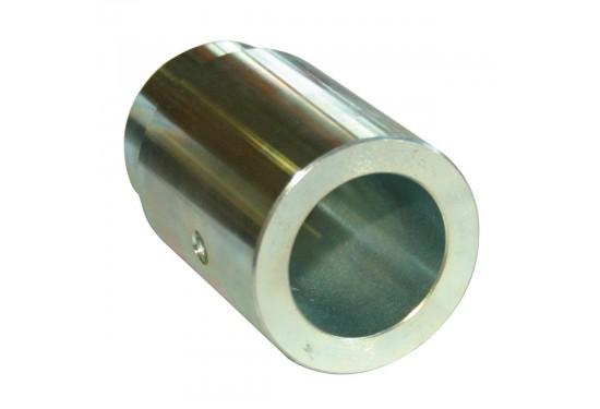 Adapter 40mm Ø 40mm, l 90mm, M33