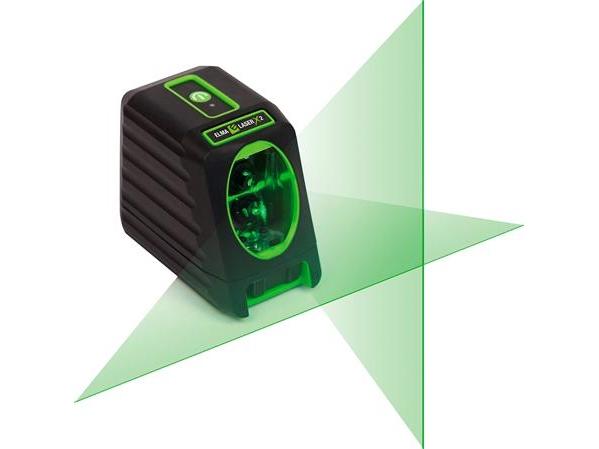 Elma Laser x2, grøn krydslaser for ekstra synlighed