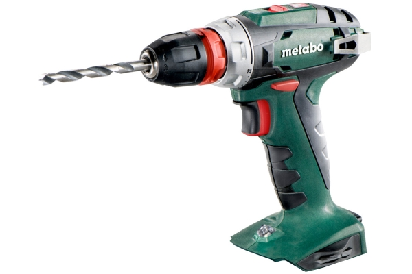 Metabo BS 18 Quick, Pistolgreb boremaskine, Nøglefri, 1 cm, 2 cm, 1 cm, 1 mm