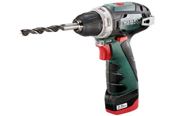 Metabo PowerMaxx BS Basic, Pistolgreb boremaskine, 1 cm, 1400 rpm, 1,8 cm, 1 cm, 1 mm