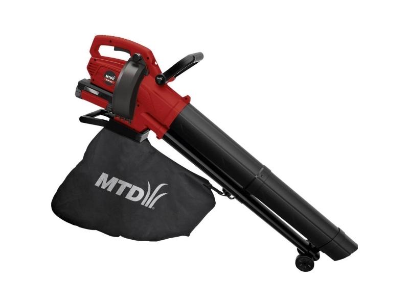MTD Products BLBV40 Løvblæser, Løvblæser, Løvhakker Batteridrevet 40 V uden batteri, mobil - Uden batteri og oplader